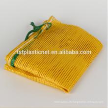 Gemüse-Plastikineinander greifen-Tasche, Gemüsenetz Sack,