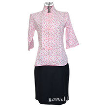 Chinese Style Work Suit, Restaurants/Hotel Uniform for Waitress