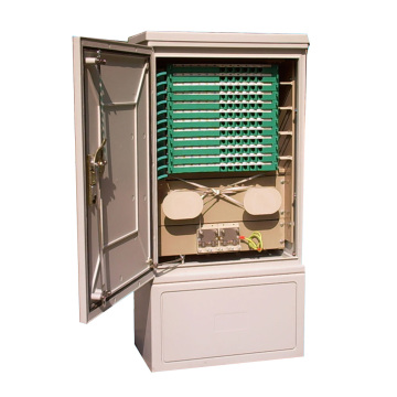 Fiber Optic Cross-Connection Cabinet