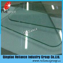 3mm-19mm flach / gebogen Sicherheit gehärtetem Glas