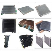 Plate Oil Cooler Industry Aluminum Radiator Air Compressor Parts Cooler