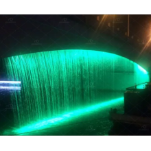Cortina de agua digital maravillosa cascada gráfica