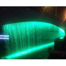 Чудесный графический водопад Цифровая водяная завеса