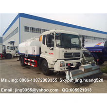 China Dongfeng DFL high pressure street washing truck 8500L water tank with sprinkler