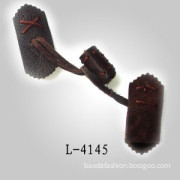 High Quality Leather Coat Buttons