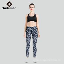 Высокая производительность хорошая шить одежду для йоги леггинсы на складе