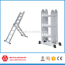 2017 escalera multiuso certificada EN131, escalera multifuncional, escalera multiuso hecha en China