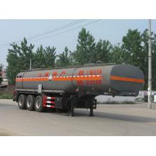 10m Tri-axle Corrosive Liquid Transport Tank Semi-trailer
