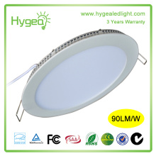 18W small power ultra slim round led panel light