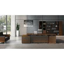 O melhor mobiliário de escritório executivo moderno de venda da mesa da parte alta (HF-01D28)