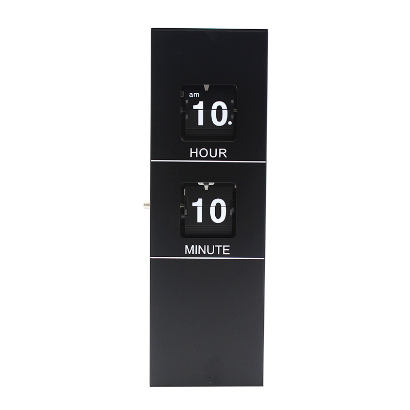 Rectange Black Wall Clock