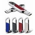 Porte-clés en métal avec clé USB