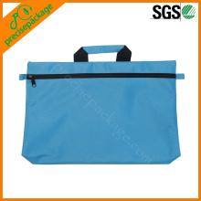 Wasserdichte, nicht gewebte Tasche für Dokumente mit Reißverschluss