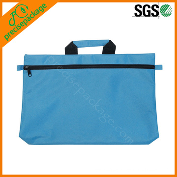waterproof non woven bag for documents with zipper
