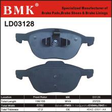 Plaquettes de frein de qualité avancée (D3128)