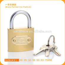 High Quality Brass Coated Padlock