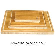 Extra Thick Bamboo Chopping Board with Groove