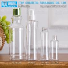 75ml 110ml 280ml 500ml bouteille bonne qualité de conception novatrice et usine d'oem service chinois pet des bouteilles en plastique en gros