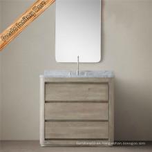 Muebles de baño clásico de madera maciza