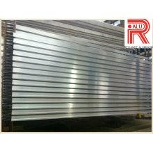 Profils en alliage d'aluminium / aluminium pour fenêtre et mur-rideau (RAL-593)