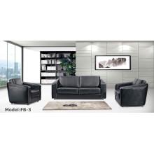 Moderne Büromöbel Leder Sektionale Rezeption Sofa (FB-3)