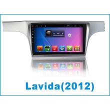 Système Android moniteur de lecteur de voiture pour Lavida avec navigation GPS de voiture