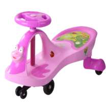Frog Shape Child Swing Car Outdoor Toy Car