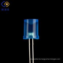 Factory Low 8mm konkav blau diffundiert LED-Dioden für keimtötende Lampe