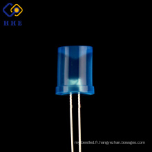 Les diodes menées diffuses concaves bleues de l'usine 8mm d'usine pour la lampe germicide