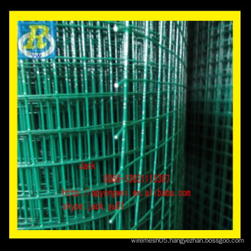 YW1/2 inch PVC coated /galvanized welded wire mesh