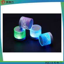 Crack Portable Touchable Bluetooth Speaker with LED Light
