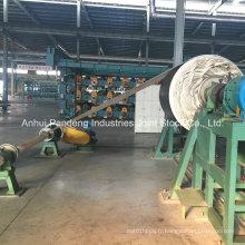 Bande transporteuse en caoutchouc de nylon de l'industrie métallurgique Nn