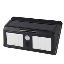 Candeeiro de parede solar ABS smd ip65