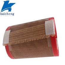 Tissu à mailles ouvertes en fibre de verre enduit de PTFE 4*4mm
