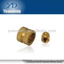 Brass insert / plastic brass insert nut / brass part / CNC parts / brass insert nuts