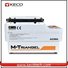 Nouveau type de sac à gaz Automatique Laminage et Bubble Removing Machine intégrée être utilisé pour la remise à neuf du téléphone