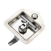 Mirror-Polished SS Hardware Industrial Cabinet Panel Locks