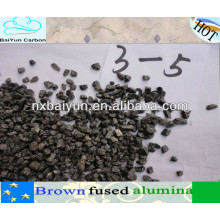 min 95% grain d'alumine fondue marron pour réfractaire