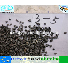 min 95% brown fused alumina grit for refractory