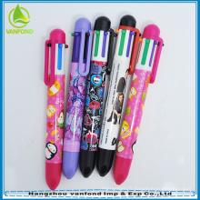 stylo de changement de couleur de bonne qualité 6 promotion de 2015