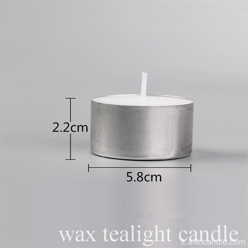 Candela di Tealight Eco-Smokeless di 50pcs 8 ore