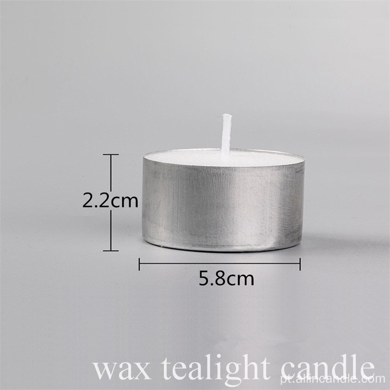 50pcs 8hour Eco-Smokeless Tealight Candle