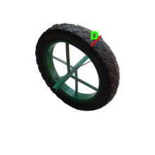 "Solid Rubber Wheel with Heavy Weight Size (15 X3"")"