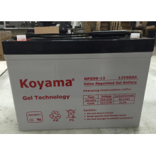 De Buena Calidad Batería de almacenamiento solar de la batería del inversor de la batería del gel de poder 12V90ah Koyama