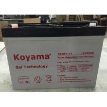 De boa qualidade bateria de armazenamento solar da bateria do inversor da bateria do gel do poder de 12V90ah Koyama