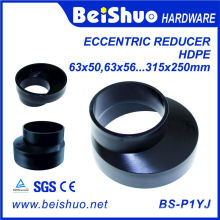 Réducteur excentrique de raccordement au système de drainage PE pour l'ajustement des tuyaux