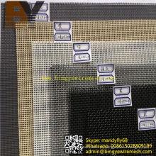 Tela de segurança de aço inoxidável tela de janela