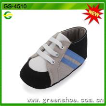 Китай удобные мягкие ботинки младенца шпаргалки (ГС-4510)