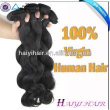 El cabello humano brasileño de la Virgen 100 de la cutícula llena al por mayor superventas Dropshipping
