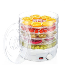 Small household vegetable and fruit drying machine